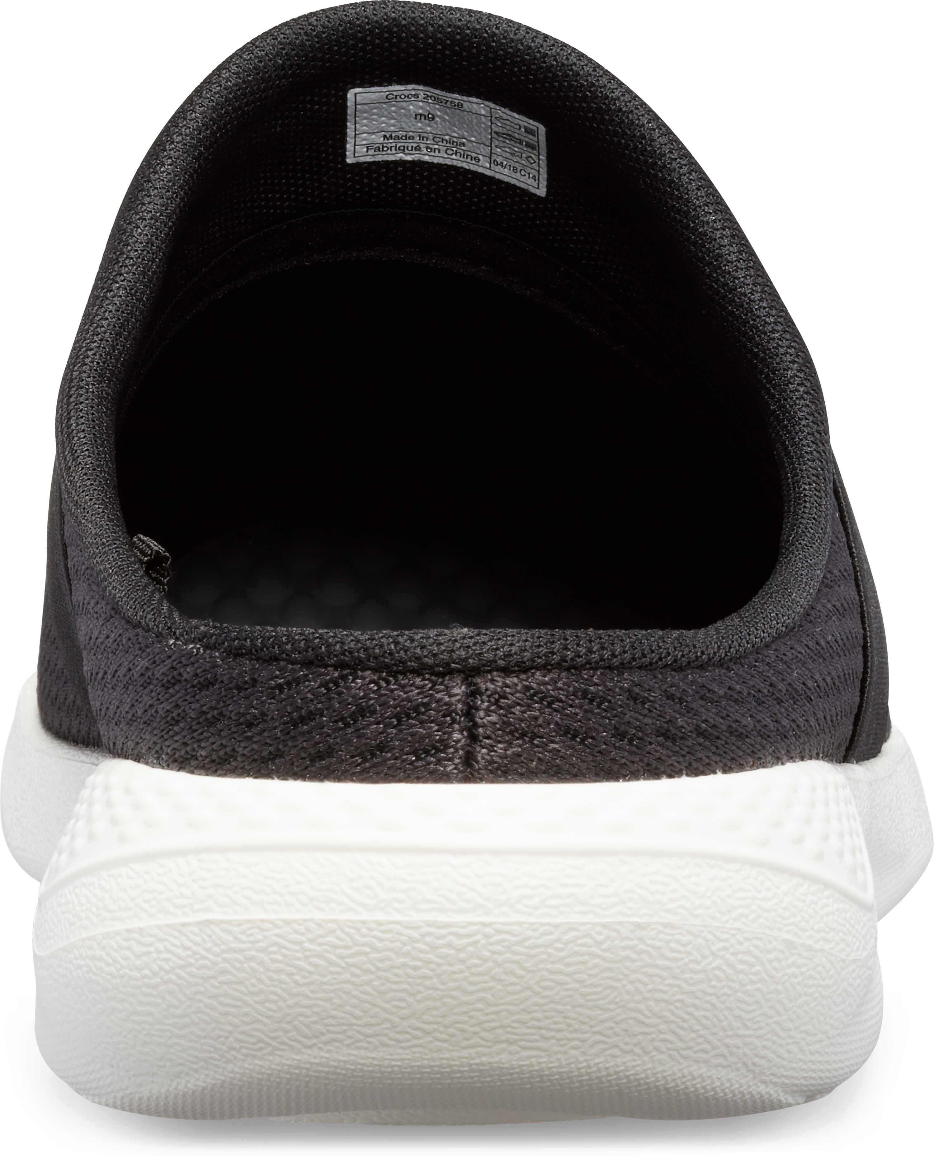 a432a9fe66a5 Crocs LiteRide Mesh Mules Men black white at Addnature.co.uk